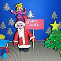 <b>Carte</b> virtuelle personnalisée: Joyeux Noël