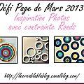 Défi Page Mars 2013
