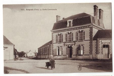 18 - ARGENT - Ecole Communale