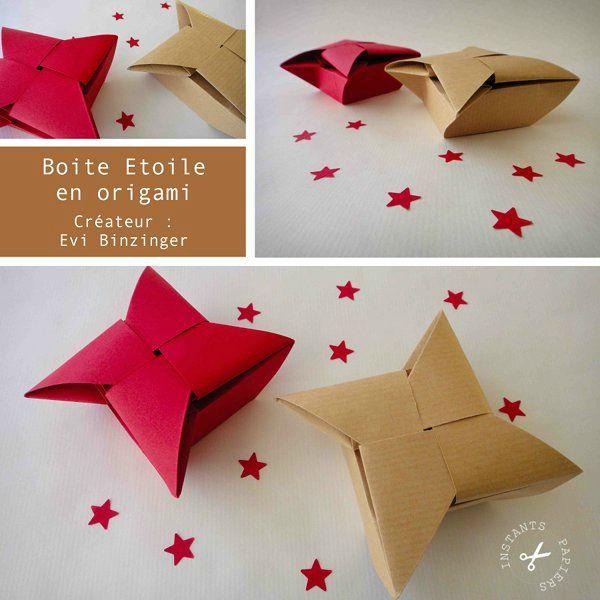 tuto boite origami etoile. Black Bedroom Furniture Sets. Home Design Ideas