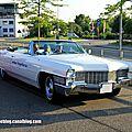 Cadillac de ville convertible de 1965 (Rencard Burger King juin 2013) 01