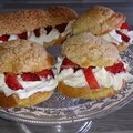 choux chantilly fraise