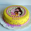 Gâteau belle (la belle et la bête)