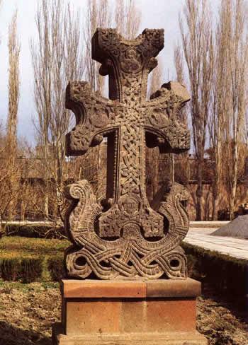 Croix Arménienne (khatchkar)