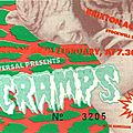 The <b>Cramps</b> - Mercredi 28 Février 1990 - Brixton Academy (London)