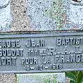 BEAUGE Jean Baptiste (Saint Aout) + 06/10/1916 Combles (80)