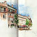 Toulouse : place de la Daurade