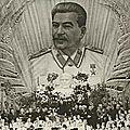 1937 - STALINE FAIT ÉLIMINER 8 MILLIONS DE RUSSES
