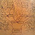 Pyrogravure #2 : arbre généalogique traditionnel