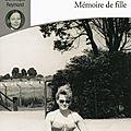 Mémoire de fille, d'Annie Ernaux lu par Dominique Reymond