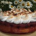 Gâteau meringué aux cerises