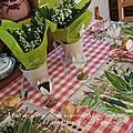 Pour une table champêtre...
