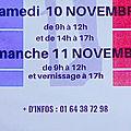 10 -11 NOVEMBRE 2018 - LE VILLAGE DE BOMBON SE SOUVIENT - EXPOSITION ET CÉLÉBRATION