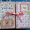 Mini album bébé version fille