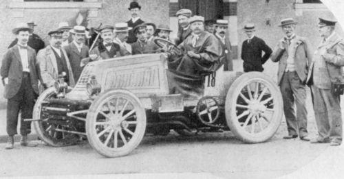 1901 paris-bordeaux - henri fournier (mors) 1st