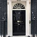 London : 10 downing street londres