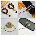 PandaHall accessoire - agate pour fabriquer les bijoux