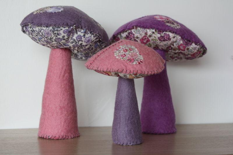 les petits champignons
