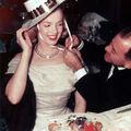 1949 Marilyn et <b>Hyde</b> au Racquet Club 2