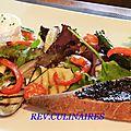 Salade de légumes méditérranéenne