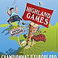 bressuire highland games: programme, line-up and bookings