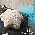 Plätzchen : biscuits allemands aux amandes et à la vanille