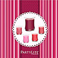 Les fragrance PartyLite Octobre Rose