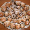Minis cakes aux 3 chocolats