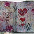 page #2 = challenge ART JOURNAL CAFE