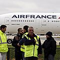 Air france : la menace d'une grève longue