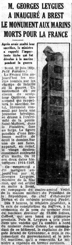 Le Petit Parisien pte St Mathieu1