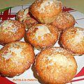 Muffins à la rhubarbe.