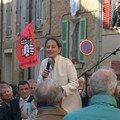 Ségolène Royal à Correns, le 23 mars 2007 pour soutenir la candidature de Michaël Latz