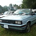 Renault - amc alliance l cabriolet 1987