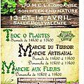 Marché artisanal d'escautpont (59) les 13 et 14 avril 2013