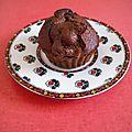 Recette des muffins au chocolat et pépites de chocolat