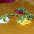 Petites FLEURS crochetees (5)