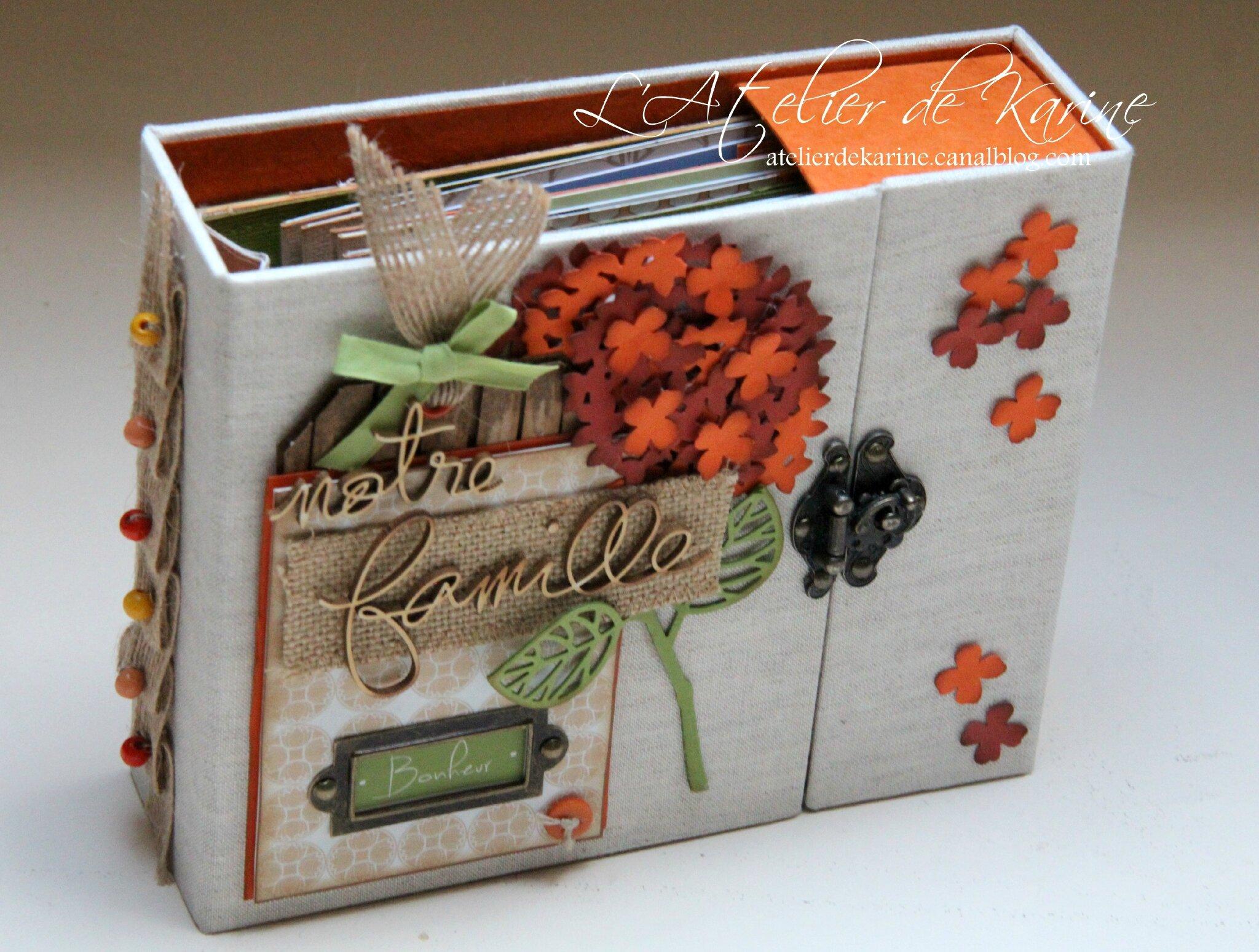 Mini Album et son coffret - Pure Lorelaïl Design 1