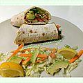 Atelier cuisine végétarienne - wrap fraîcheur