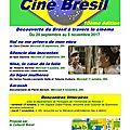 Cinéma: le collectif brésil rennes propose son dixième cycle de découverte du brésil à travers le cinéma