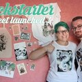 Kickstarter: t-shirts, totebags, prints, stickers et artbooks dispos !