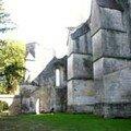 La Couronne - les ruines de l'abbaye