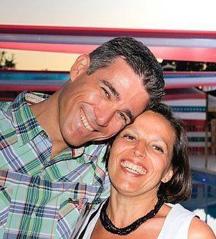 Mon mari C. et moi, été 2010