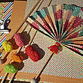 Eventail de papier .... Small paper fan 😊 <b>DIY</b> Origami...... Facile å fabriquer !
