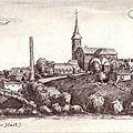 FOURMIES-Dessin allemand 1915