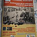 Bonneval , Commémoration des 75 ans de la Libération