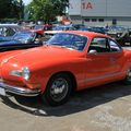 Vw karmann ghia coupé type 14 (1958-1974)(RegioMotoClassica 2010) 01