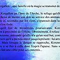 Les kergallen-4 : sélène... le résumé
