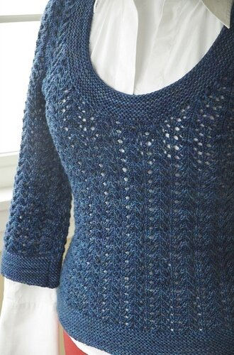 February Fitted Pullover par Amy Herzog