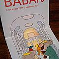 Babar est dans l'expo ... tout baigne ?
